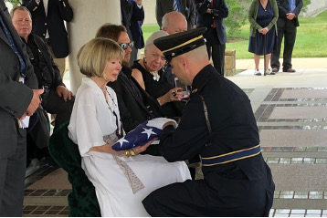 Legendary Foreign Correspondent Richard Pyle Laid to Rest at Arlington Cemetery