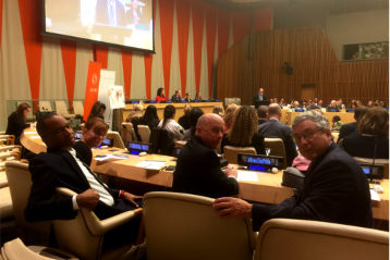 OPC Attends Press Freedom Panel at UN