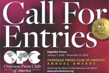OPC Awards - Call for Entries