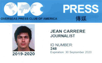 OPC Offers Press IDs With Chinese Script