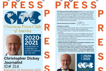 OPC Offers Special Press ID