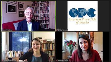 Jennings Award Winners Discuss Key Role of Citizen Journalism