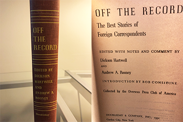 OPC Book Donation, Part II: 'Off The Record'