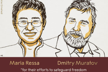 OPC Lauds Nobel Peace Prize Honoring Two Journalists